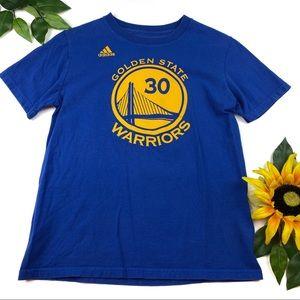 Adidas NBA Golden State Warrior T-shirt Curry